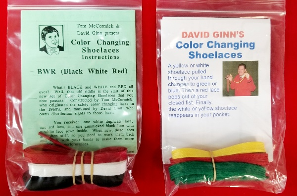 Color Changing Shoelaces - Ginn