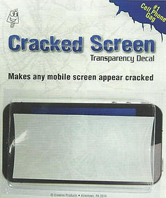 Cracked Cell Phone Screen