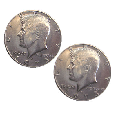 Double Sided Coins - Half Dollar - Heads
