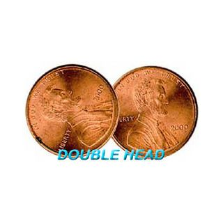 Double Sided Coins - Penny - Heads - Pack of 6