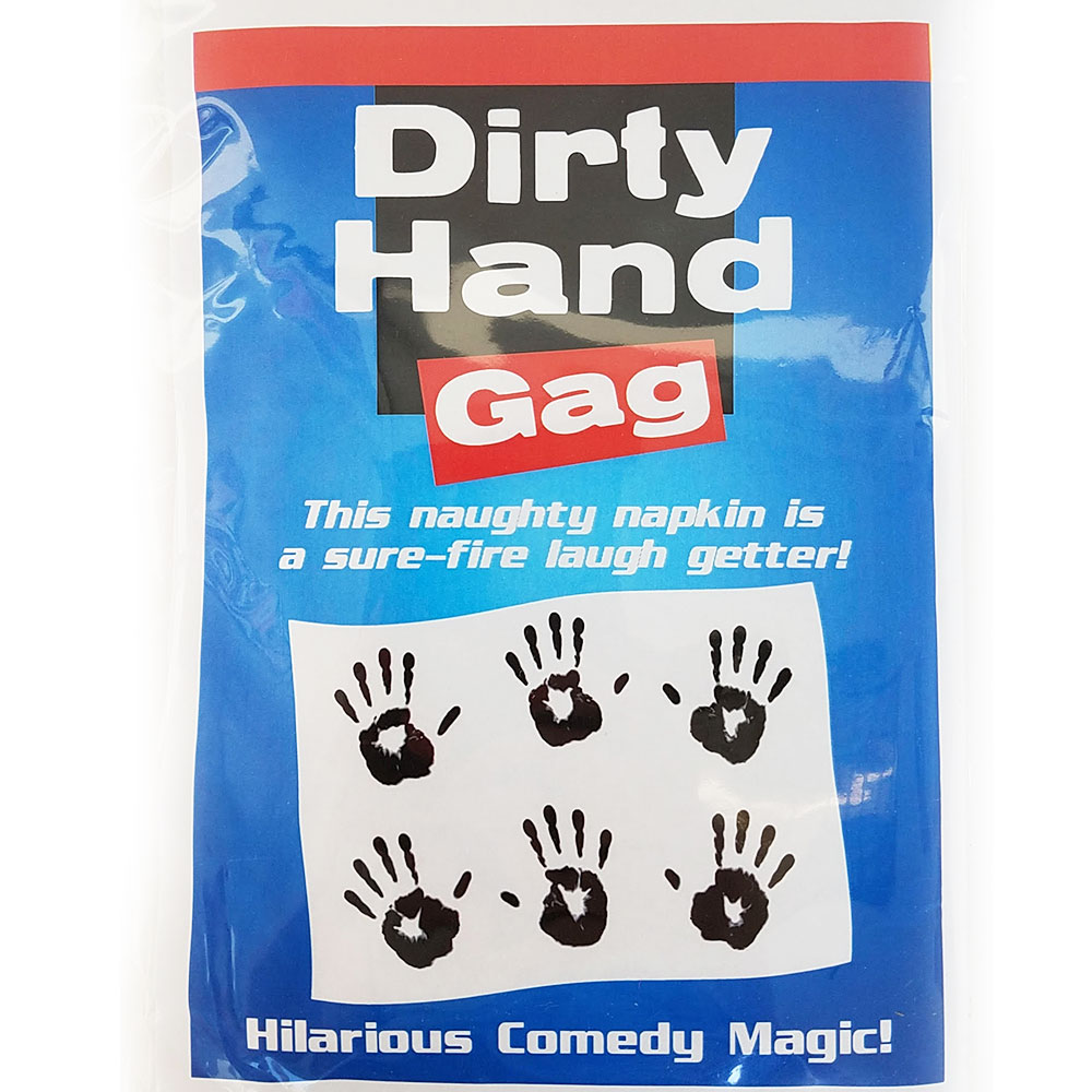 Dirty Hand Gag Comedy Magic