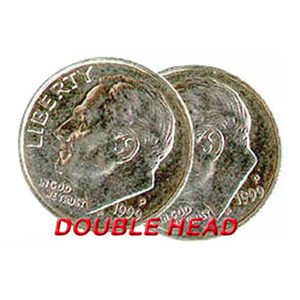 Double Sided Coins - Dime - Heads
