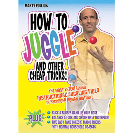 How to Juggle and Other Cheap Tricks with Marty Pollio DVD