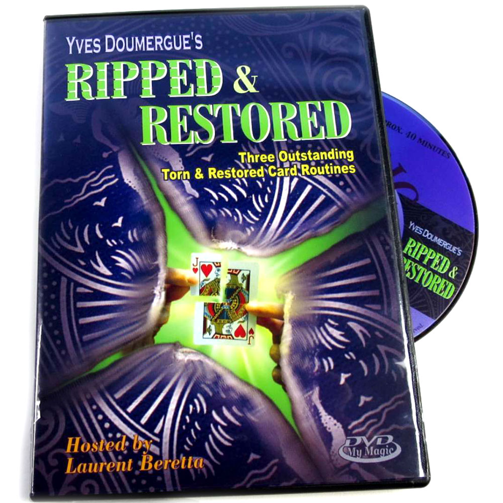 Yves Doumergues Ripped and Restored DVD