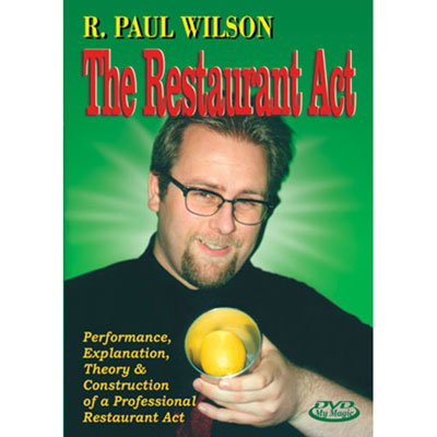 The Restaurant Act with R. Paul Wilson DVD