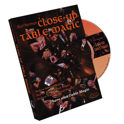 Close Up Table Magic by Karl Norman DVD