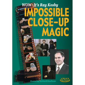 Impossible Close-up Magic with Ray Kosby DVD