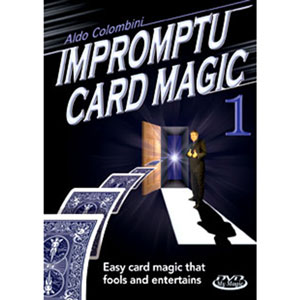 Impromptu Card Magic with Aldo Colombini DVD #1