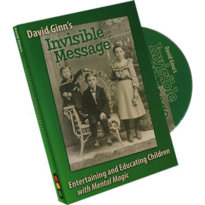 David Ginn - Invisible Message DVD - Entertaining and Educating Children with Mental Magic