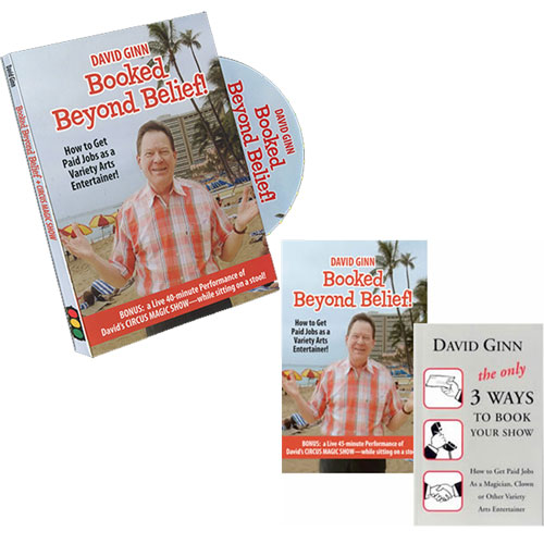 Booked beyond Belief with David Ginn DVD and Book Set