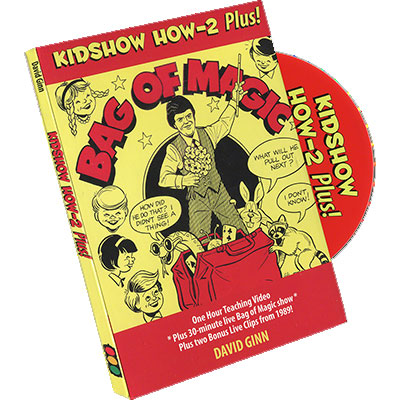 David Ginn Bag of Magic - Kidshow How 2 Plus DVD