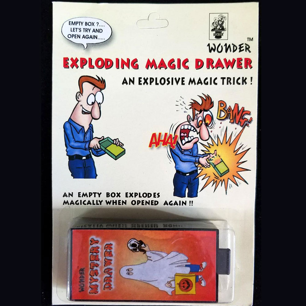 Exploding Magic Drawer Box (Wonder) - Pack of 12