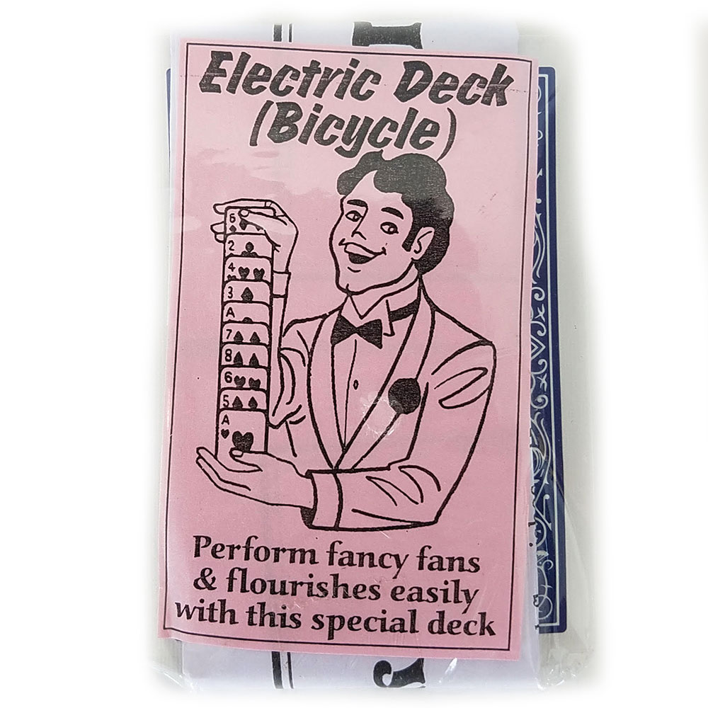 Electric Deck - Bicycle - Poker (E-ZX)