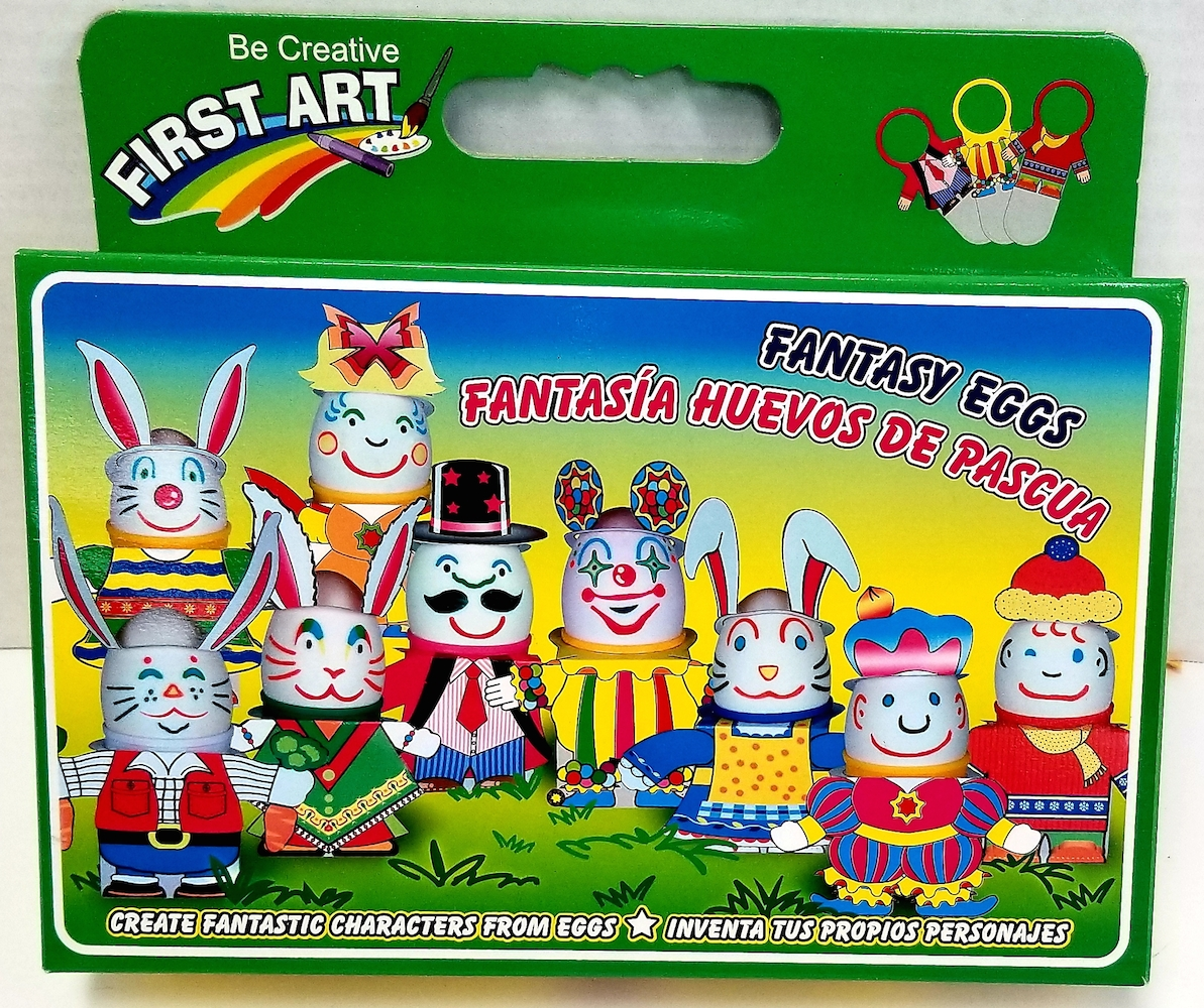 HP Fantasy Easter Egg Characters Making Kit (7004)