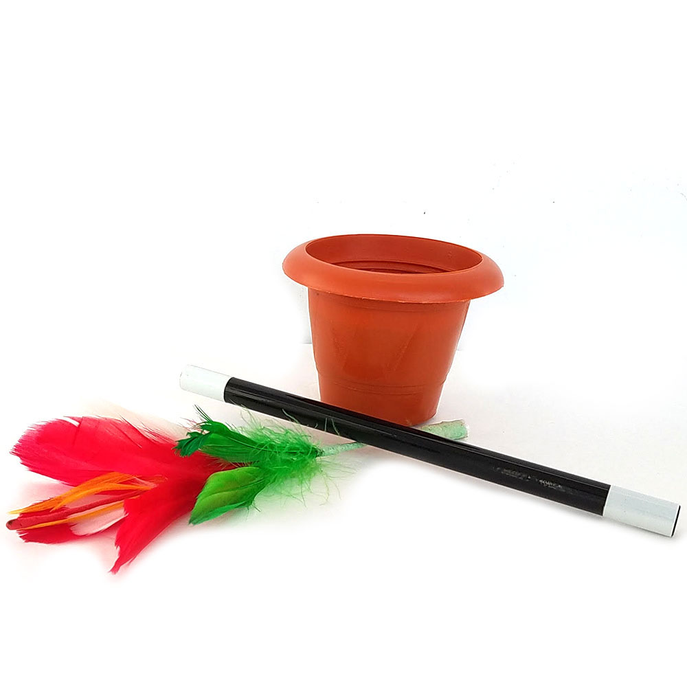 Flower from Wand in Pot - Large (FT)