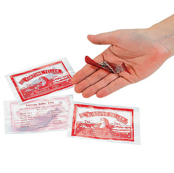 Fortune Telling Fish - Pack of 144