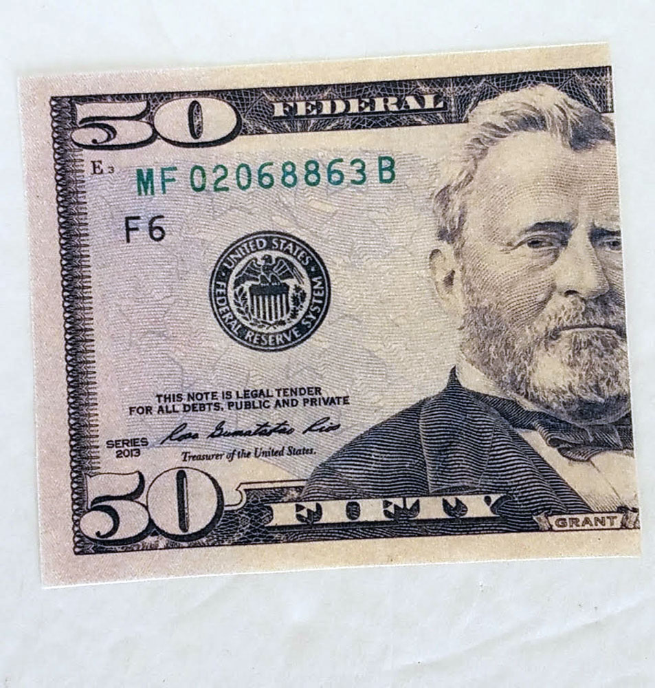 Flash Dollar Bills - US $50 - Pack of 10