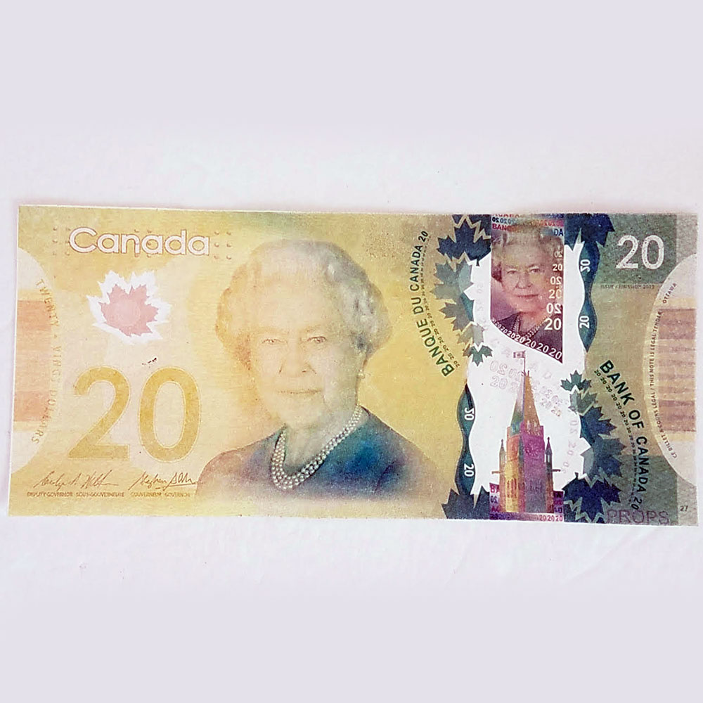 Flash Dollar Bills - Canadian $20 Full