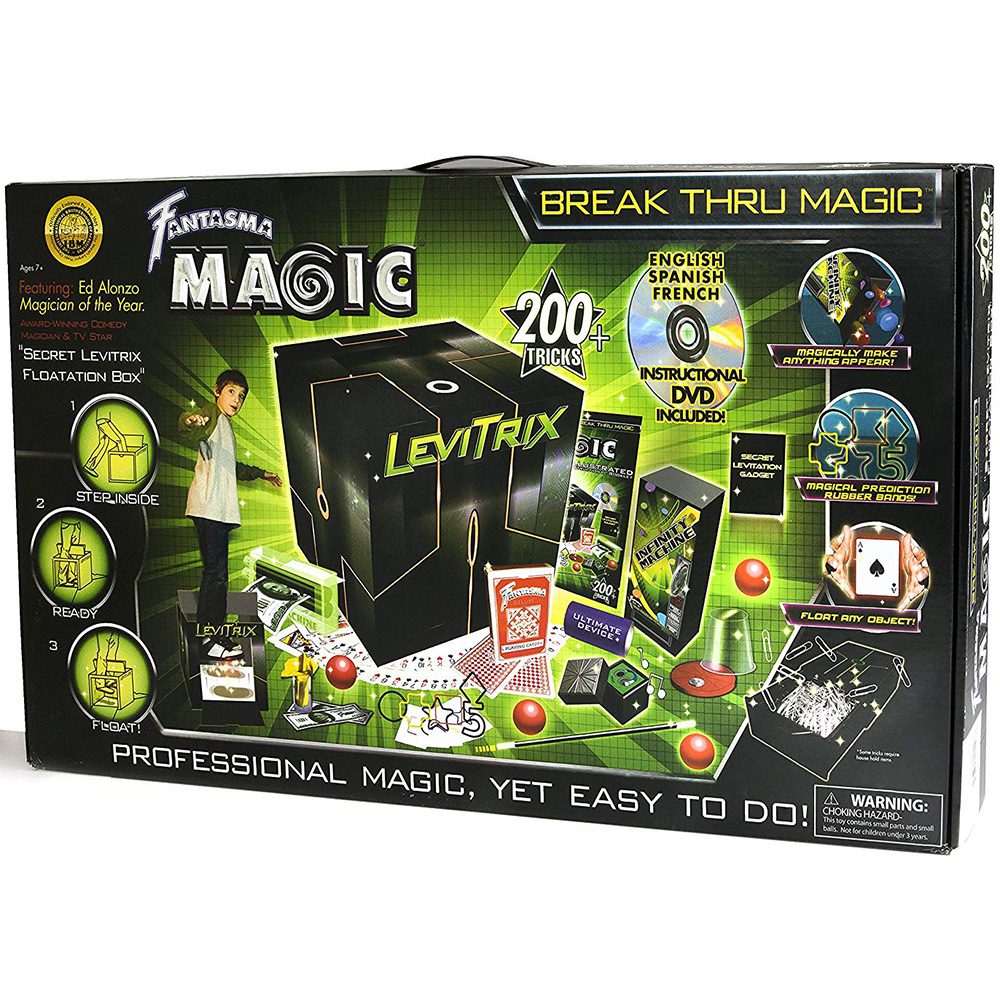 Fantasma Break Thru Magic Set 200 Magic Tricks Kit