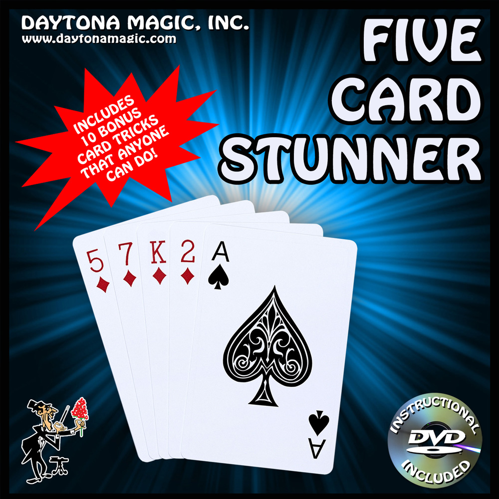 Five Card Stunner with DVD