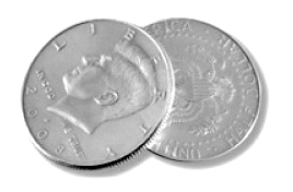 Flipper Coin - Half Dollar US $0.50