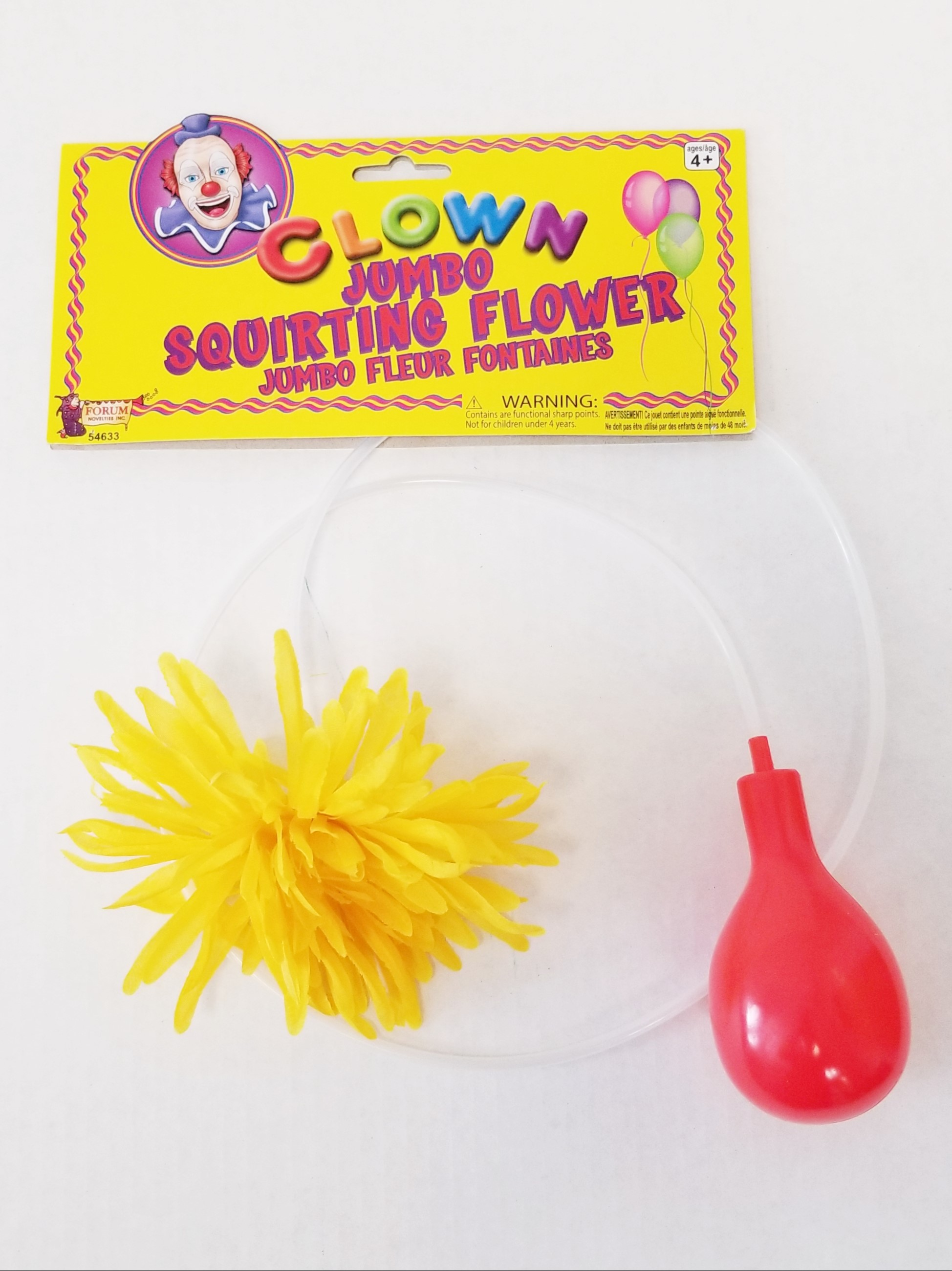 Clown Jumbo Squirt Flower - 6""