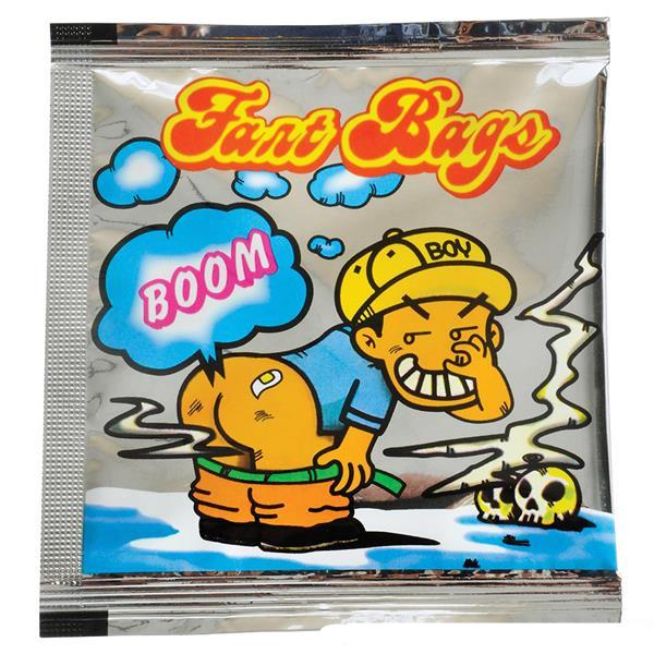 Fart Bomb Bag - Display of 72
