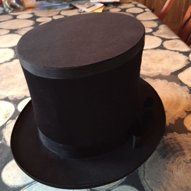 Folding Top Hat -  Economy (FT)
