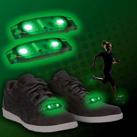 Light up Shoe Beatz 2 pc Set - Green