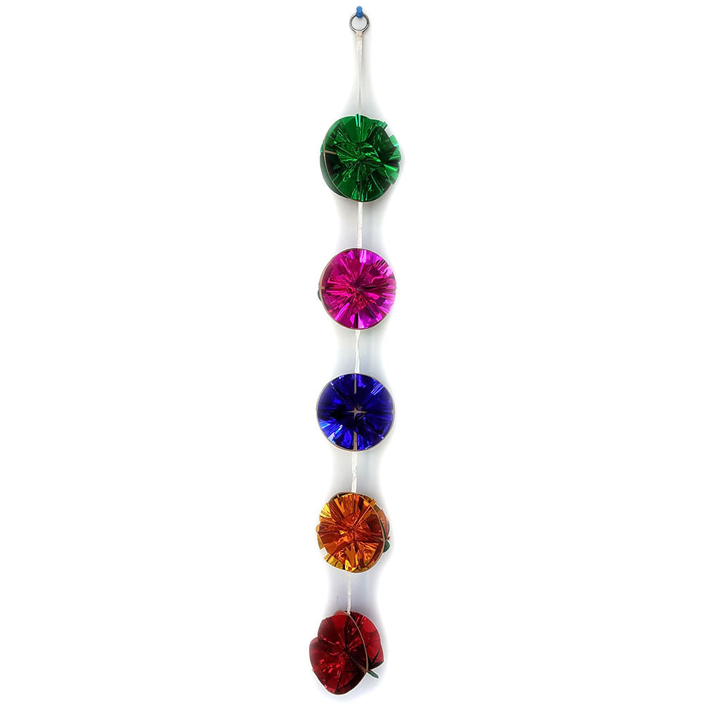 Glitter Ball Production Garland (FT) - 4""