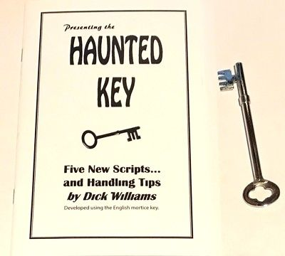 Haunted Key Booklet by D. Williams (Royal)