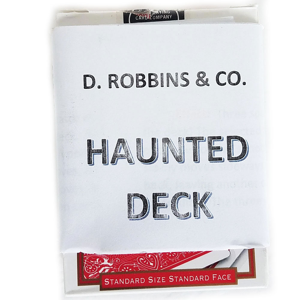 Haunted Deck Bicycle Poker (E-Z) - Red