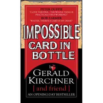 Impossible Card in Bottle by G. Kirchner