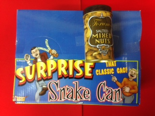 Surprise Snake Can- Display Of 12
