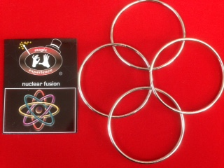 "Nuclear Fusion (4"" Linking Rings, set of 4)"