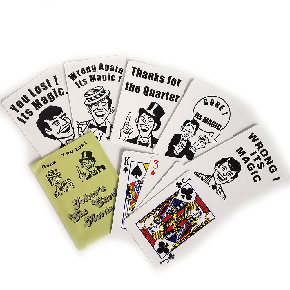 Jokers Six Card Monte (EZ-X)
