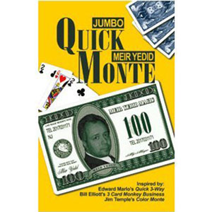 Jumbo Quick Monte Trick by Meir Yedid