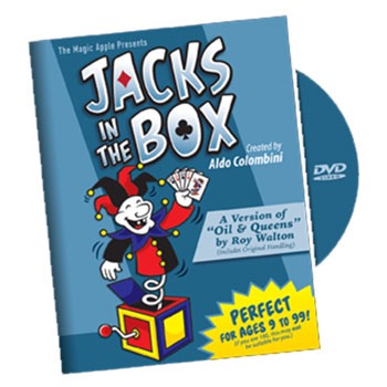 Jacks in the Box Card Trick with DVD