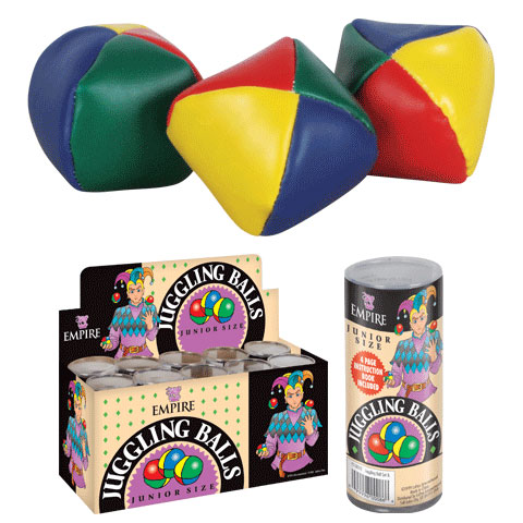 "Juggling Balls - Junior Size 2 1/4"" - Set of 3"