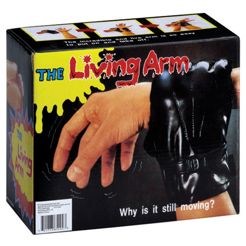 Living Arm - Black Glove Holding Hand