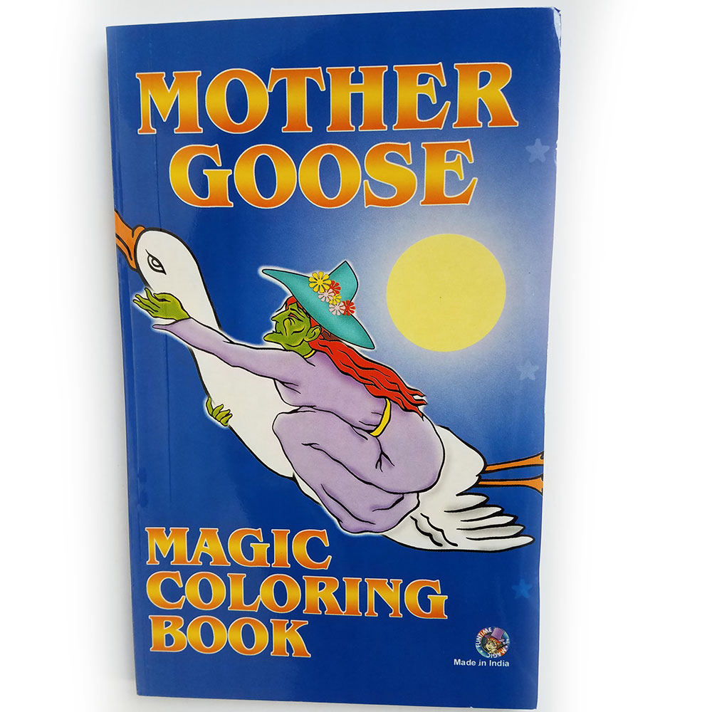 "Magic Coloring Book - Mother Goose Mini Nursery Rhymes - 5.5"" x 8.5"" (FT)"