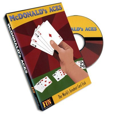 McDonalds Aces Card Trick with DVD