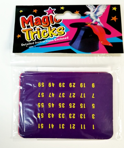 Magic Computer Age Cards #5447