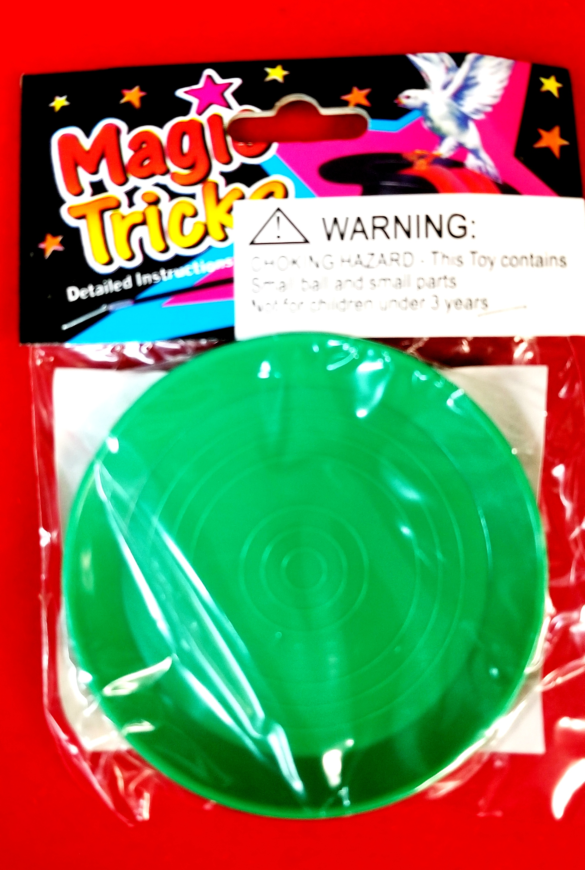Magic Multiplying Coin Tray Saucer #5481