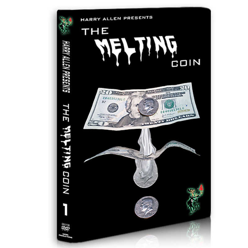 Melting Coin Trick with DVD