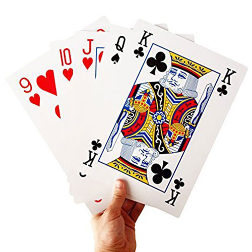 "Mega Jumbo Playing Cards - 8"" x 11"""