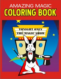 "Magic Coloring Book 5"" x 8"" (TM)"