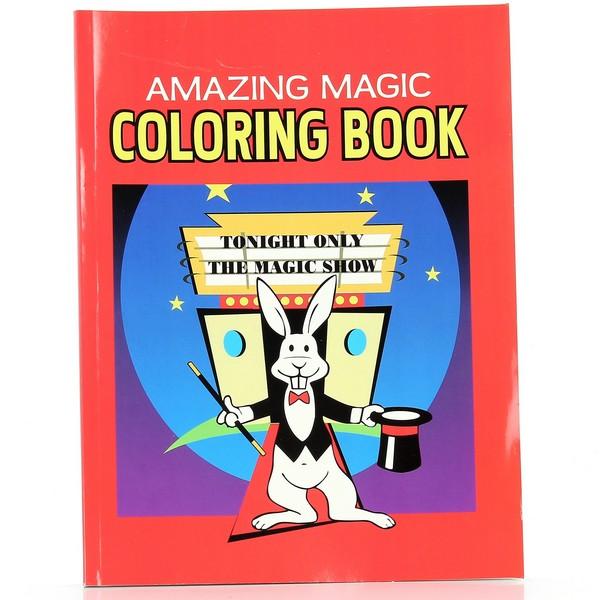 Magic Coloring Book 8 X 11 Tm D Robbins Co
