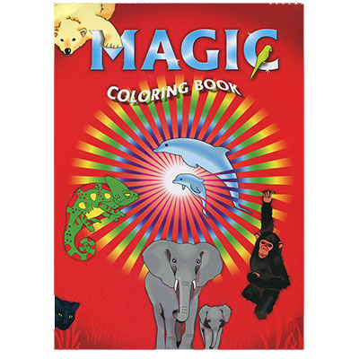 "Magic Coloring Book - Large 8"" x 11"" (VDF)"
