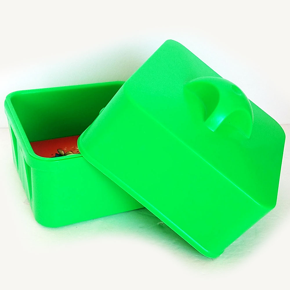 "Magical Candy Box 5"" x 5"" x 3.5"" (Wonder) - Green"